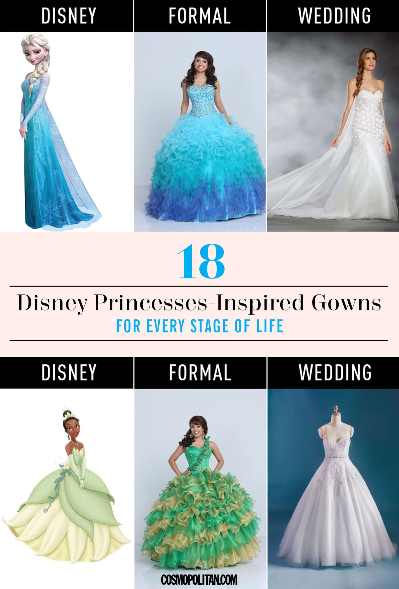 Famous Disney Inspired Wedding Gowns Picture Collection - All ...