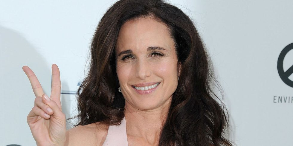 Andie MacDowell complains about being bumped from first