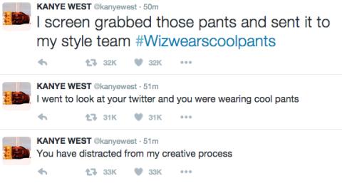 Kanye West's Glorious Twitter Rant Against Wiz Khalifa