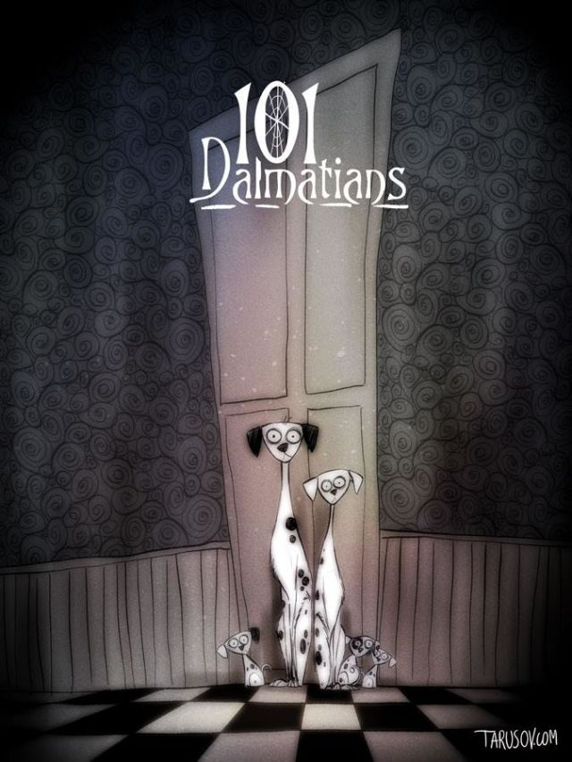 10 Disney Movies Stunningly Reimagined as Tim Burton Films