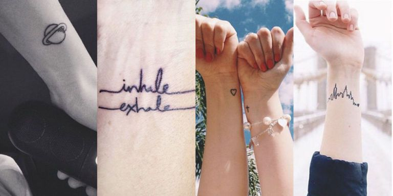 22 Tiny Wrist Tattoos That Are Almost Too Pretty for Words