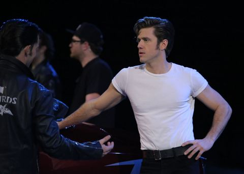 Some Actors on Grease: Live! Wore Lube as Hair Gel