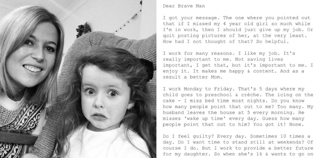 This Woman Masterfully Shut Down a Guy Who Shamed Her For