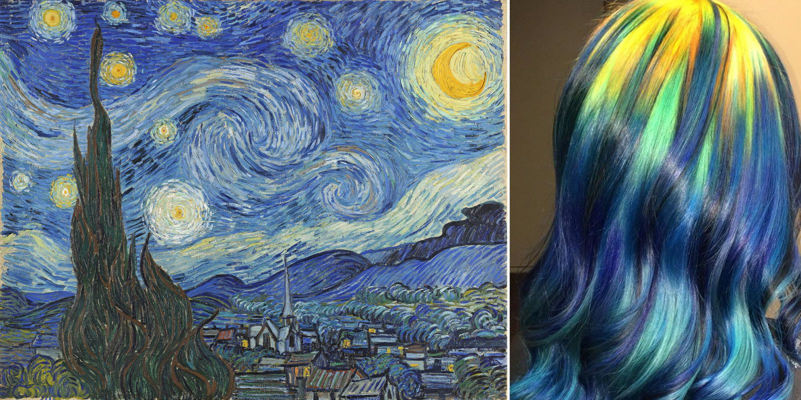 This Colorist Dyes Hair to Look Like Famous Paintings
