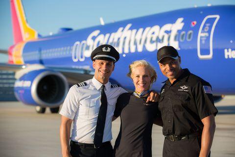 southwest airline dress code