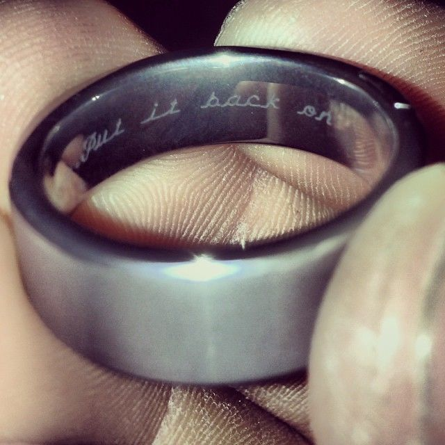 Wife Gets Ballsy Message Engraved on Husband's Wedding Band to Ensure He Never Cheats
