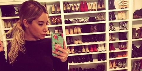 10 Celebrity Shoe Closets That Will Give You Major Closet Envy
