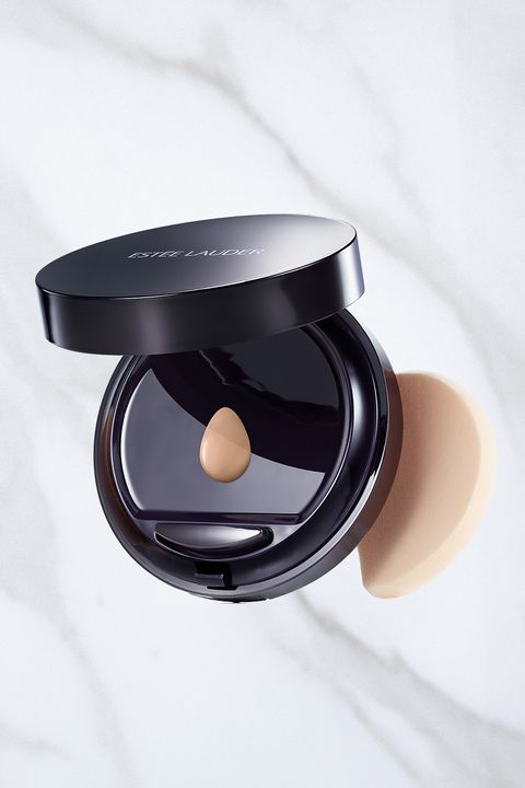 "<p>If you want to hide little imperfections or even out your complexion, go for makeup that won't get cakey as the evening wears on. <a href=""http://www.esteelauder.com/product/631/36691/Product-Catalog/Makeup/Double-Wear/Makeup-To-Go"" target=""_blank"">Estée Lauder Double Wear Makeup To Go</a>, $45, gives just enough natural-looking coverage. </p>"