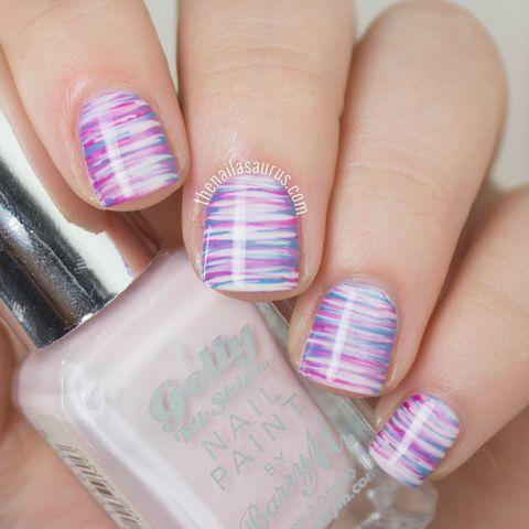 Blue, Finger, Skin, Purple, Nail, Magenta, Lavender, Nail care, Nail polish, Pink,
