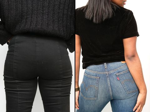 7f629722272 10 People Tried Wedgie Jeans and They Were Pretty Magical