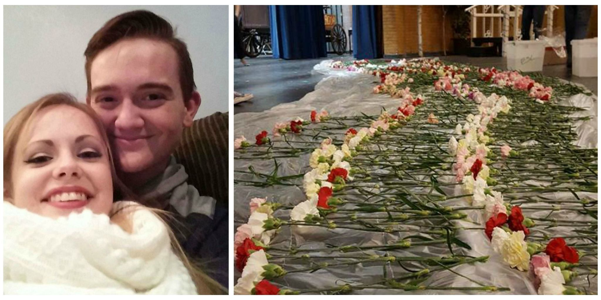 This High School Senior Surprised Every Girl at His School With Flowers