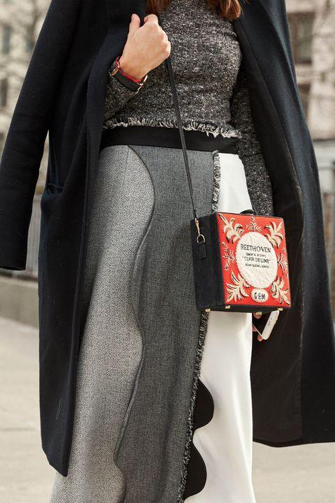 Sleeve, Textile, Outerwear, Style, Bag, Fashion, Shoulder bag, Street fashion, Blazer, Leather,