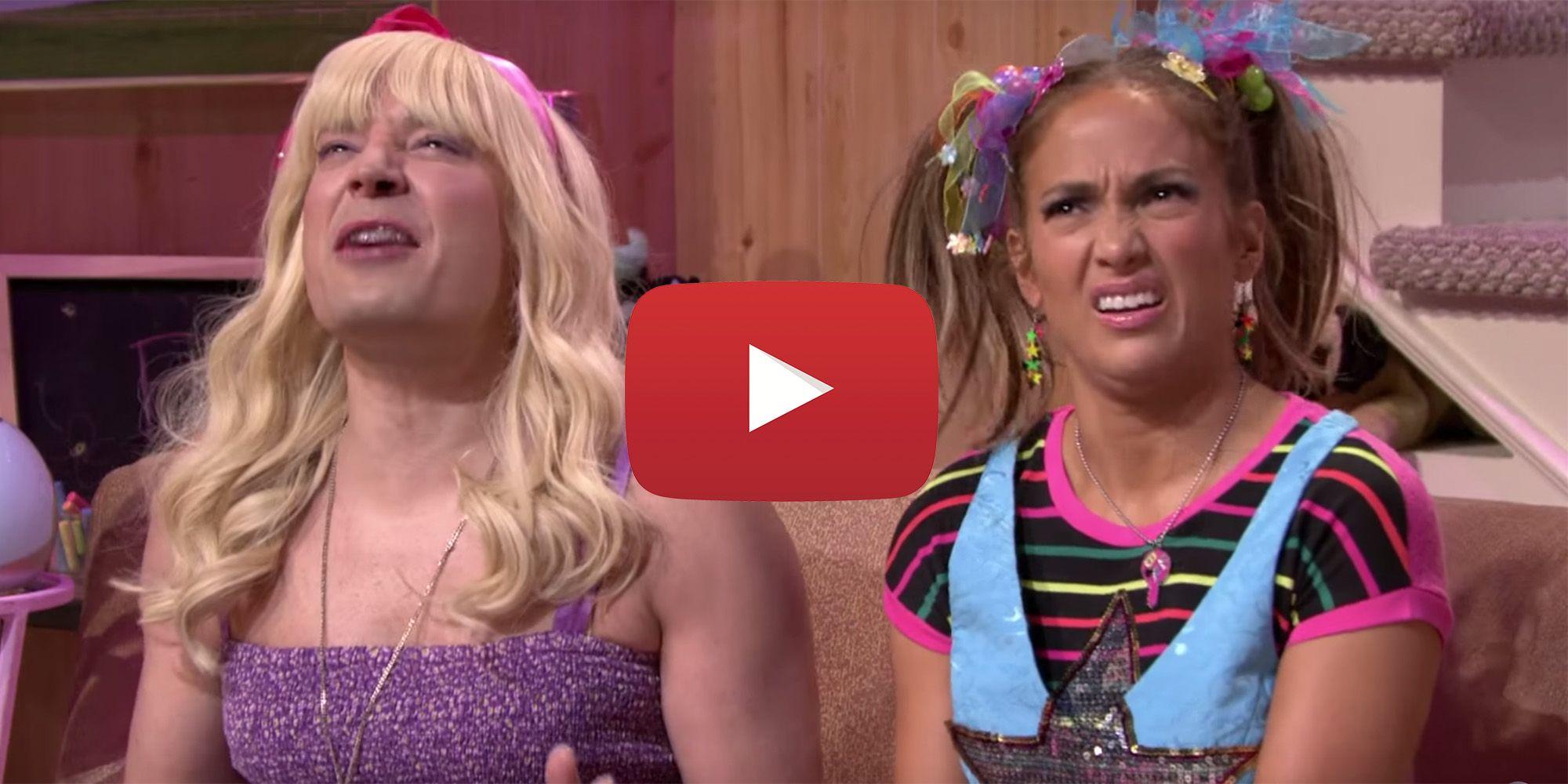 Watch J.Lo Twerk as a Teenager on Tonight Show