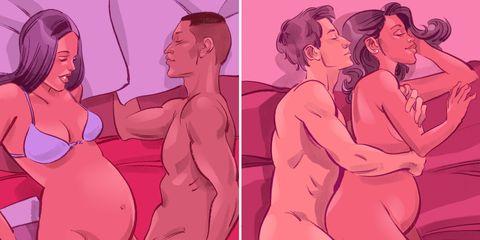 ท่าเซ็กส์สำหรับคนท้อง