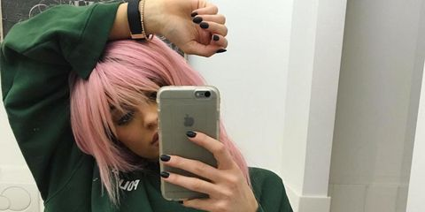 "Kylie Jenner: ""My Mom Forced Me to Get Manicures as a Kid"""