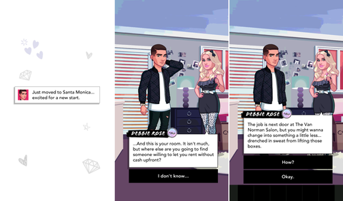 Purple, Tie, Violet, Screenshot, Graphic design, Graphics, Animation, Multimedia,