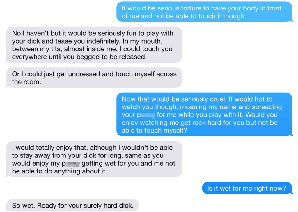 why do guys like sexting so much