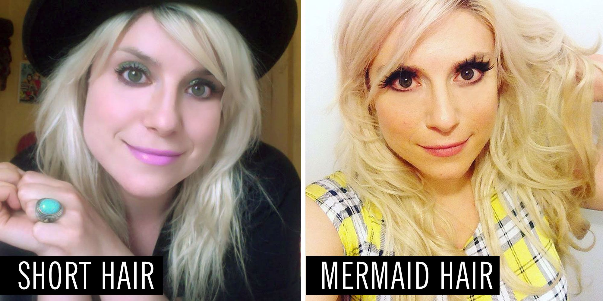 I Had Mermaid Hair Extensions For A Month And The Best Thing