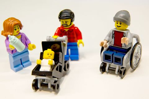 Lego stay-at-home dad