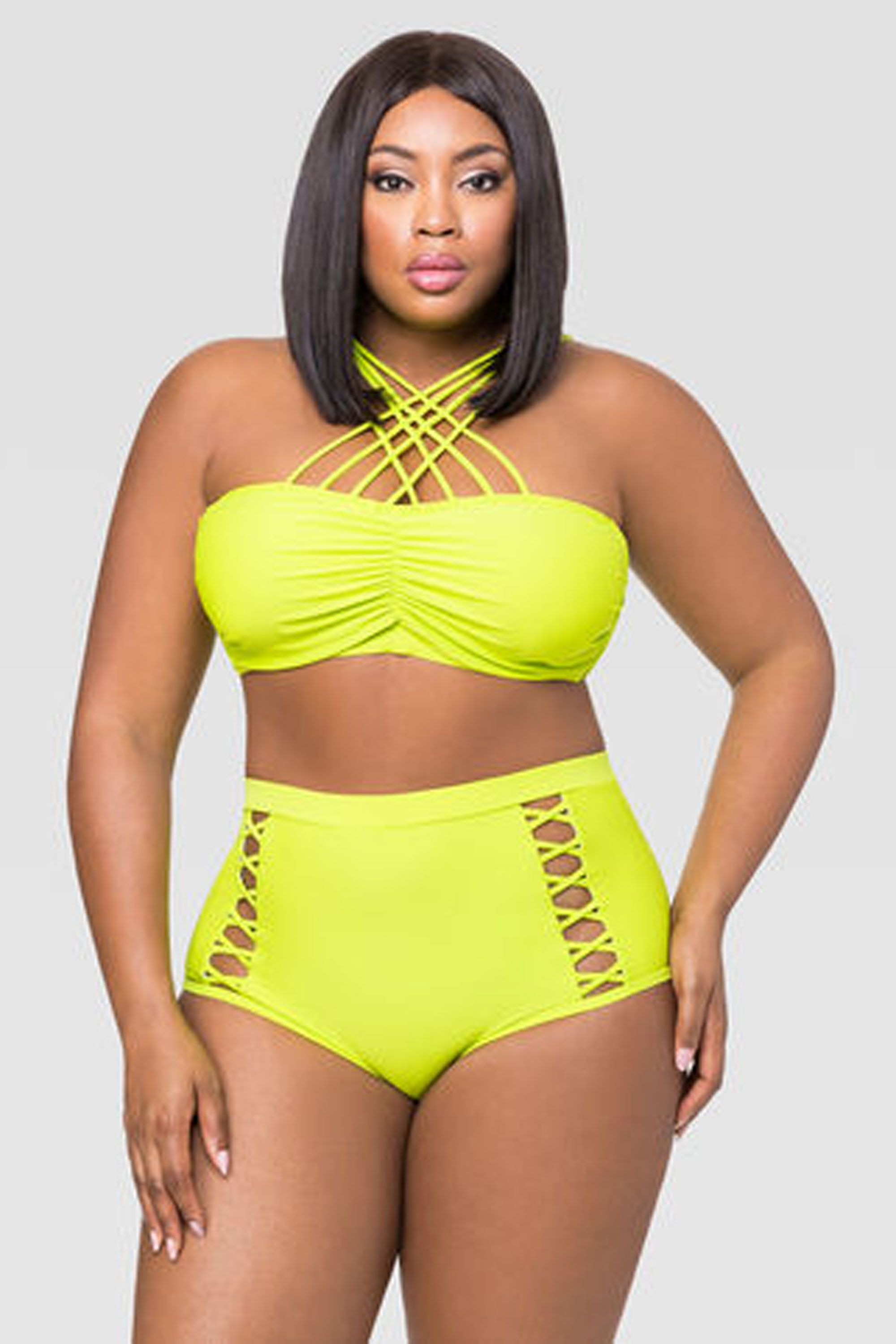 20 Gorgeous and Sexy High-Neck Swimsuits 37fc3a12d