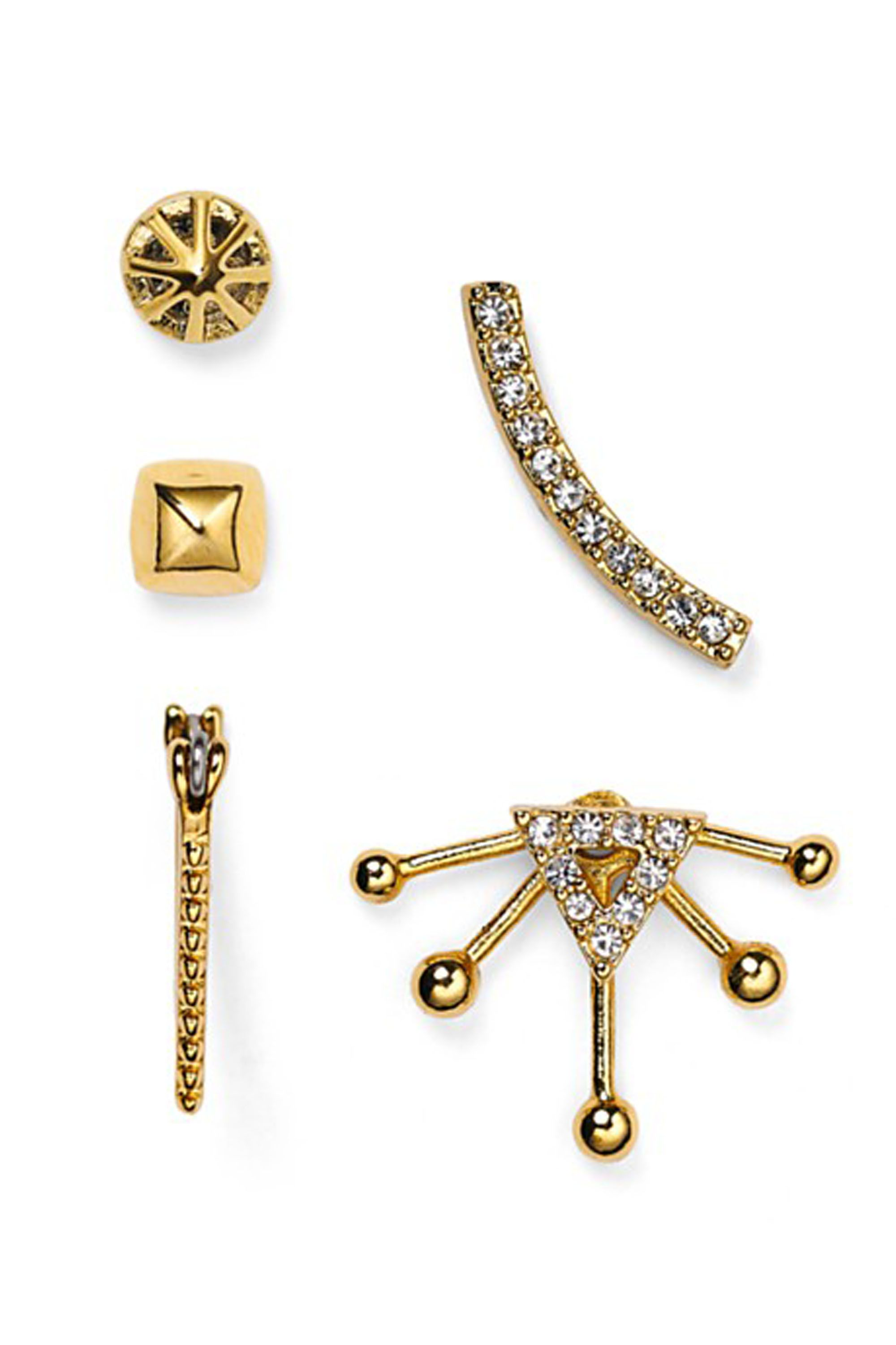 for touch of earrings mismatched a maria on stone pin our up doubles alphabet trio