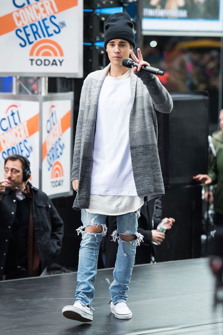 22 times justin bieber's clothes made no sense