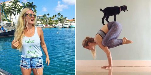 """How Being """"Real"""" on Instagram Helped Yoga Girl Gain Almost 2 Million Followers"""