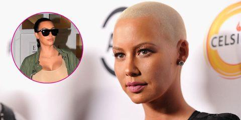 Amber Rose Defends Kim Kardashian, Slams Pink on Instagram