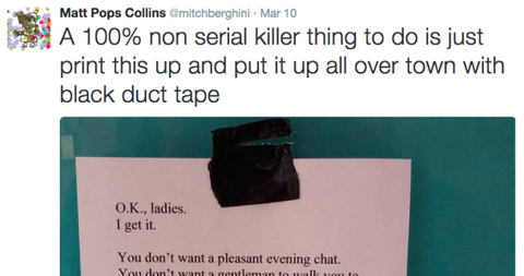 "This ""Good Guy"" Just Did the Creepiest Thing and the Internet Is Not Having It"