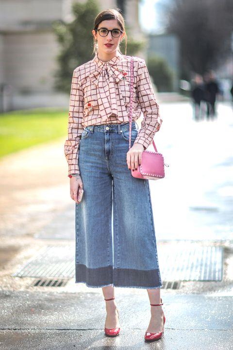 Clothing, Eyewear, Sleeve, Shoulder, Bag, Denim, Textile, Photograph, Collar, Outerwear,