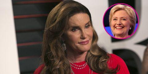Caitlyn Jenner Meets Hillary Clinton