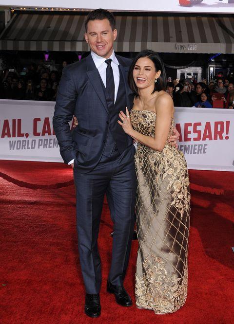 Channing Tatum Spotted Wearing Wedding Ring - Jenna Dewan Channing ...