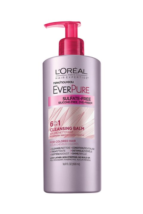 """<p>""""When it comes to hair washing, less is more,"""" says L'Oréal Paris colorist Kari Hill, who works with Michelle Williams, Zooey Deschanel, and Taylor Schilling. Water weakens strands and makes them more susceptible to breakage. Plus, it opens the cuticle, allowing dye molecules to escape and natural minerals in the water to penetrate (zapping vibrancy and shine). """"If you're one of those people who can go three days without washing — you know who you are — your habit helps maintain color and the health of your hair,"""" says Hill. If more than a day sounds like eternity, alternate between a shampoo and an all-in-one cleansing conditioner, like <a href=""""http://bit.ly/1TNsz0D"""" target=""""_blank"""">L'Oréal Paris EverPure Cleansing Balm</a>, which gently washes your scalp and strands without stripping away moisture.</p>"""