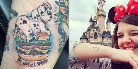 Art, Tattoo, Walt disney world, Painting, Temporary tattoo, Paint, Bracelet, Art paint, Turret, Collage,