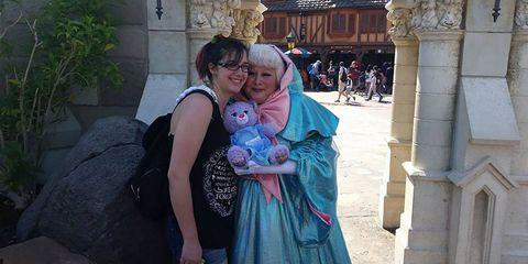 Janice Maureen Murphy with Fairy Godmother