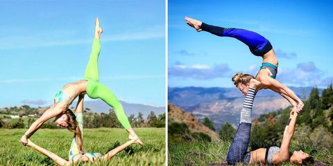 4 Mesmerizing Acroyoga Poses Anyone Can Master