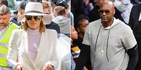 "Khloé Kardashian Reportedly ""Worried"" About Lamar Odom's Behavior"