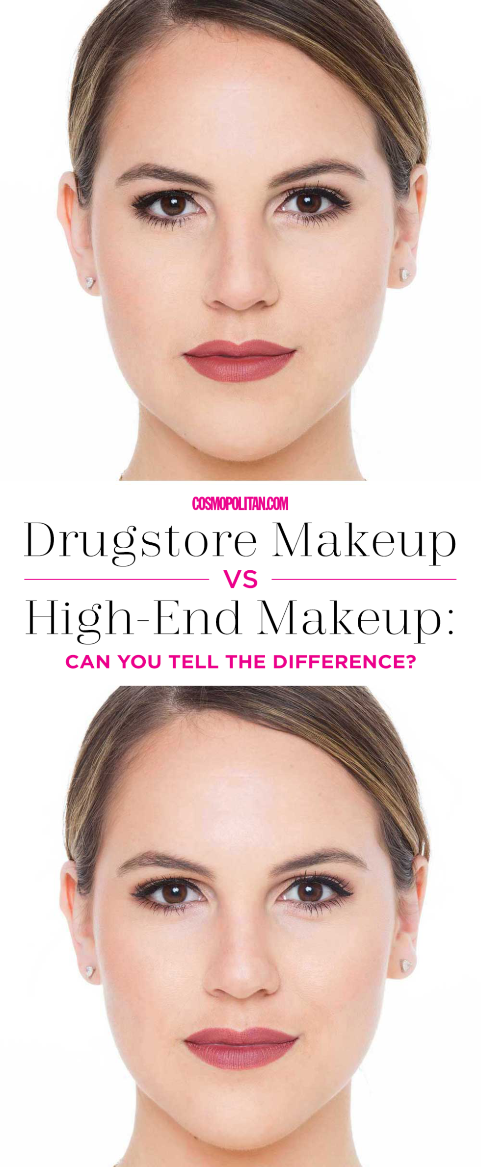 I Compared Drugstore and Department Store Makeup, and the Results Were Surprising