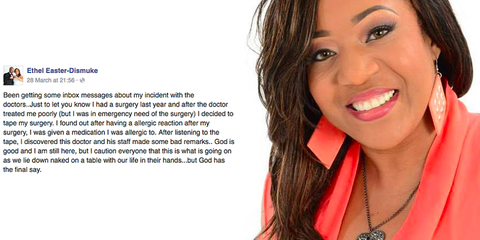 This Woman Secretly Recorded Her Doctors Body-Shaming Her During Surgery