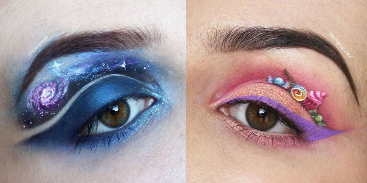 You Won't Be Able To Stop Staring At These Amazing Eye Makeup ...
