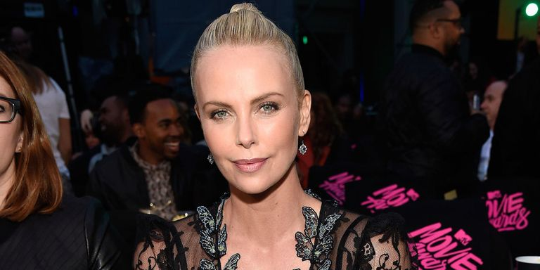 Watch Charlize Theron Give a Shout Out to All Bad Ass Chicks at the MTV Movie Awards