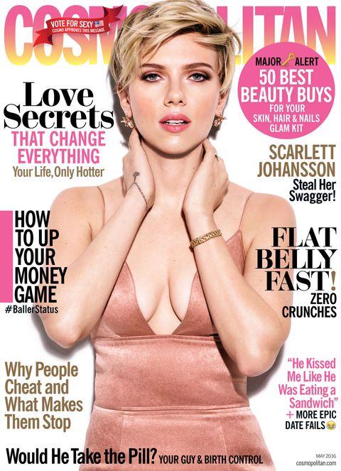 Scarlett Johansson Cosmopolitan Cover
