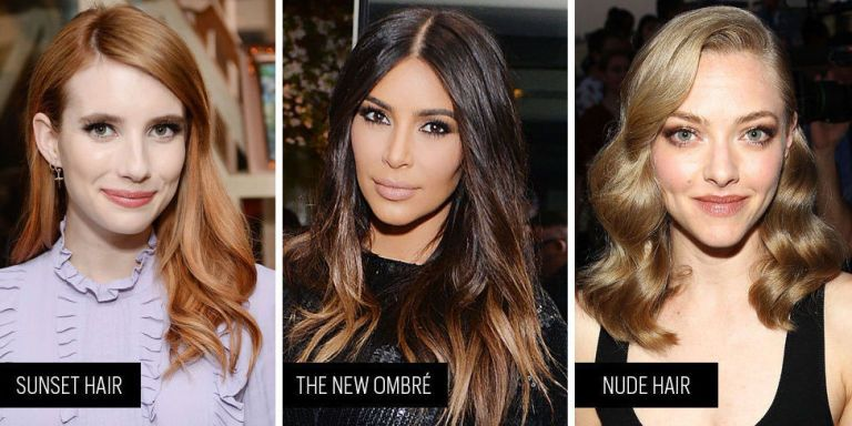 Study Up: The Cool-Girl Hair Color Trends of Summer 2016