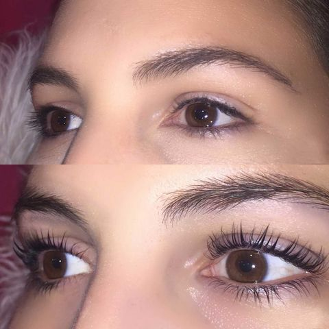 Keratin Eyelash Lift Review - What It's Like to Get a Lash