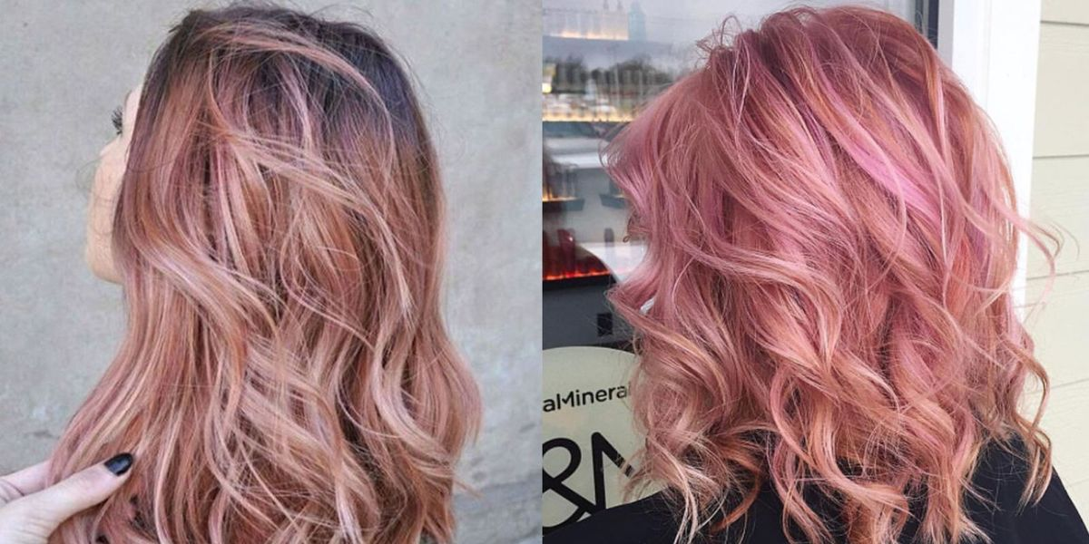 Rose Gold Hair Is The Latest Hair Color Trend 12 Pink Hair Shades
