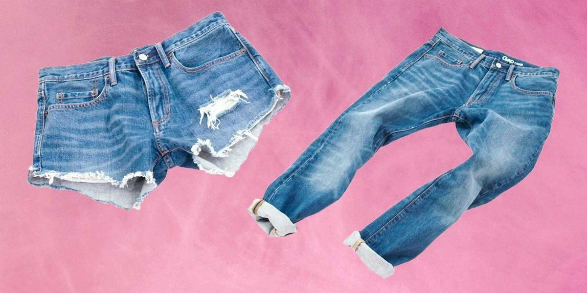 21ec31ad04 Denim Cutoff Tutorial — How to Turn Jeans Into Cutoff Shorts