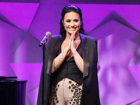 "Here's Demi Lovato Singing ""I Will Survive"" for The Angry Birds Movie"