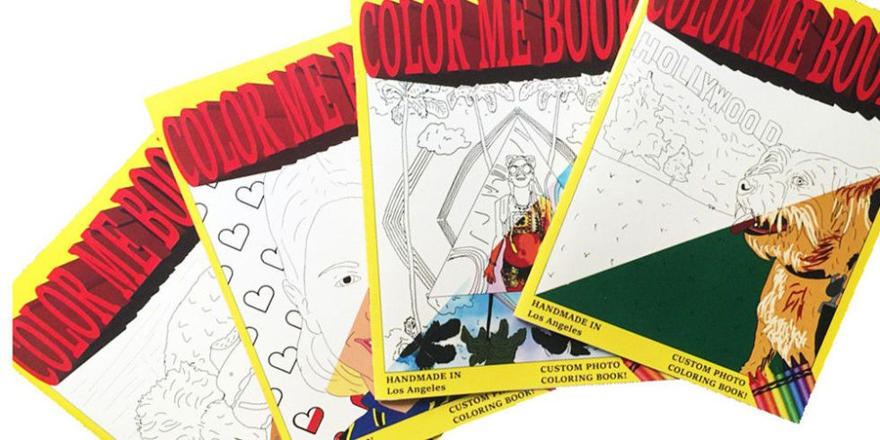 this company turns your instagram posts into coloring book pages - Custom Coloring Books