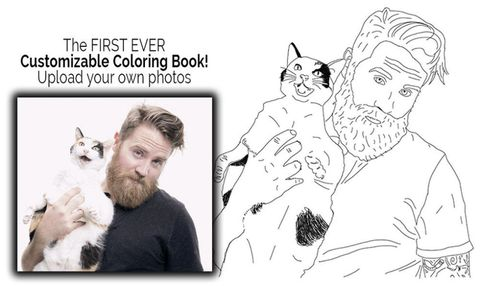 Make Your Picture Into Coloring Page  Coloring Pages