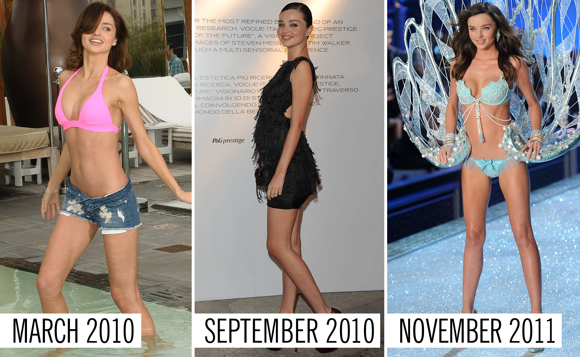 What Victoria's Secret Models Look Like Before, During, And After Pregnancy